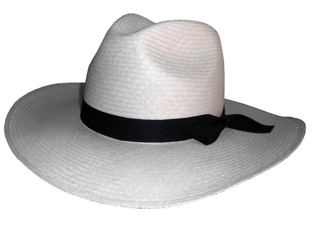 Sombrero Vaquero de Jipi Ala Grande Color Natural - Jipijapa Hats 35574c166f3