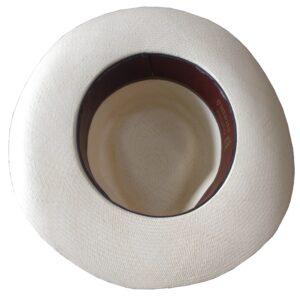 Sombrero de Jipi por dentro