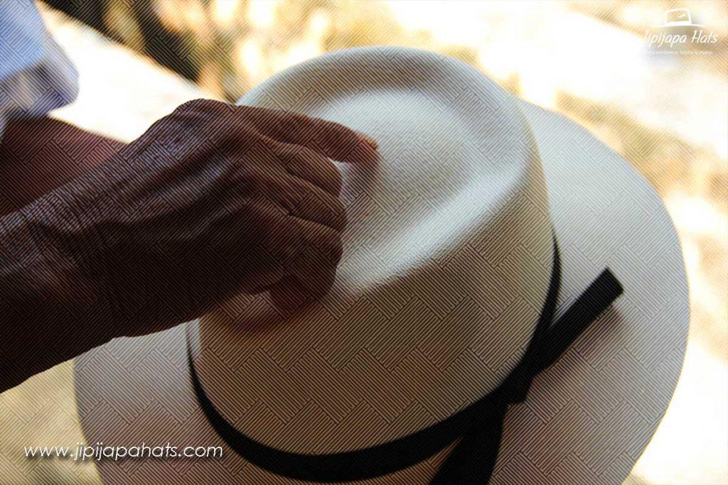 Sombrero de Jipi hecho a mano