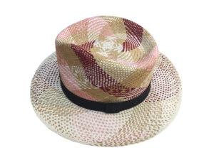 Sombrero tipo Panamá de colores