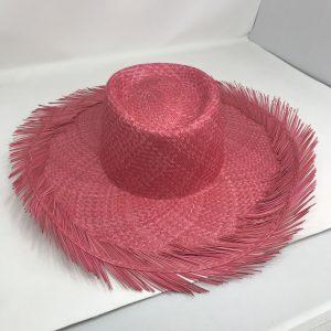 Sombrero Cubano de color deshilado en el ala