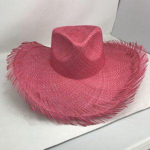 Sombrero Panamá deshilado